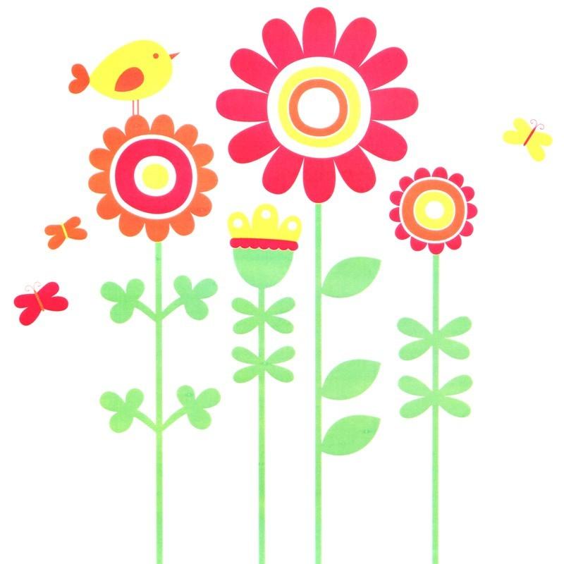 Vinilo decorativo Happy Garden MyVinilo