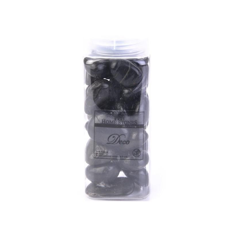 Piedras decorativas negro