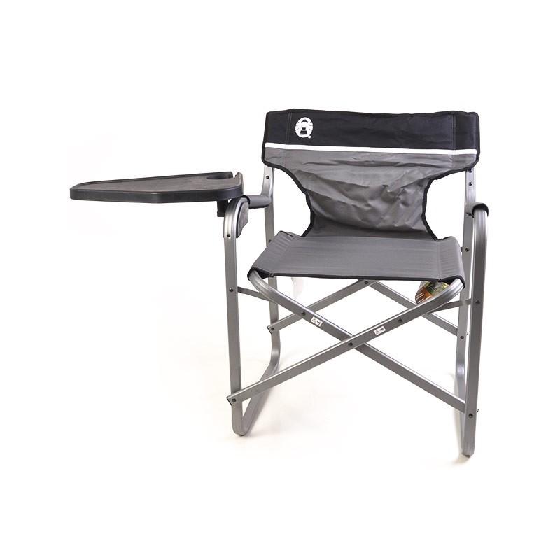 Silla para camping con mesa gris Coleman