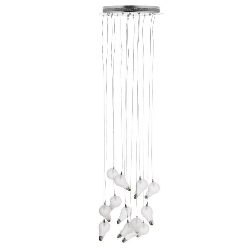 Lámpara colgante de 12 luces