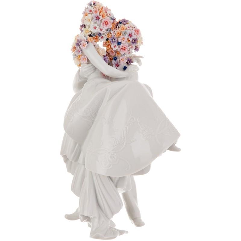 Figura Amor y Flores Lladró acabado brillante