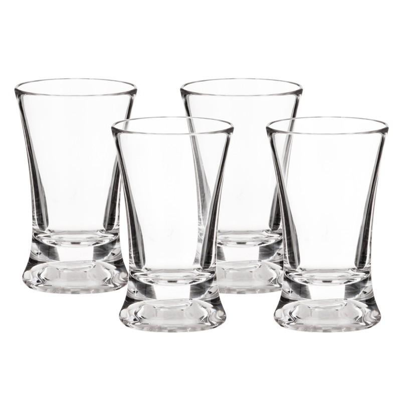 Juego de 4 vasos para tequila Haus
