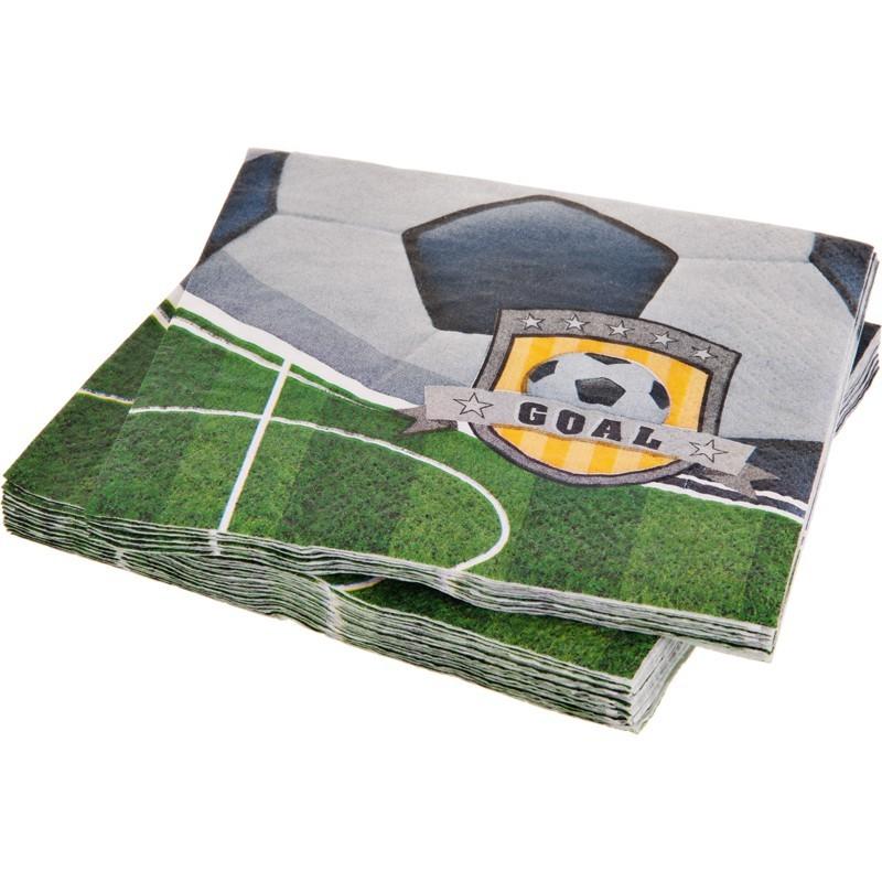 Juego de 16 servilletas Soccer Creative Converting