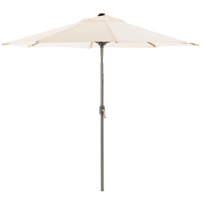 Parasol redondo inclinable