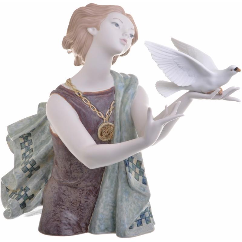 Figura alegoría a la paz Lladró
