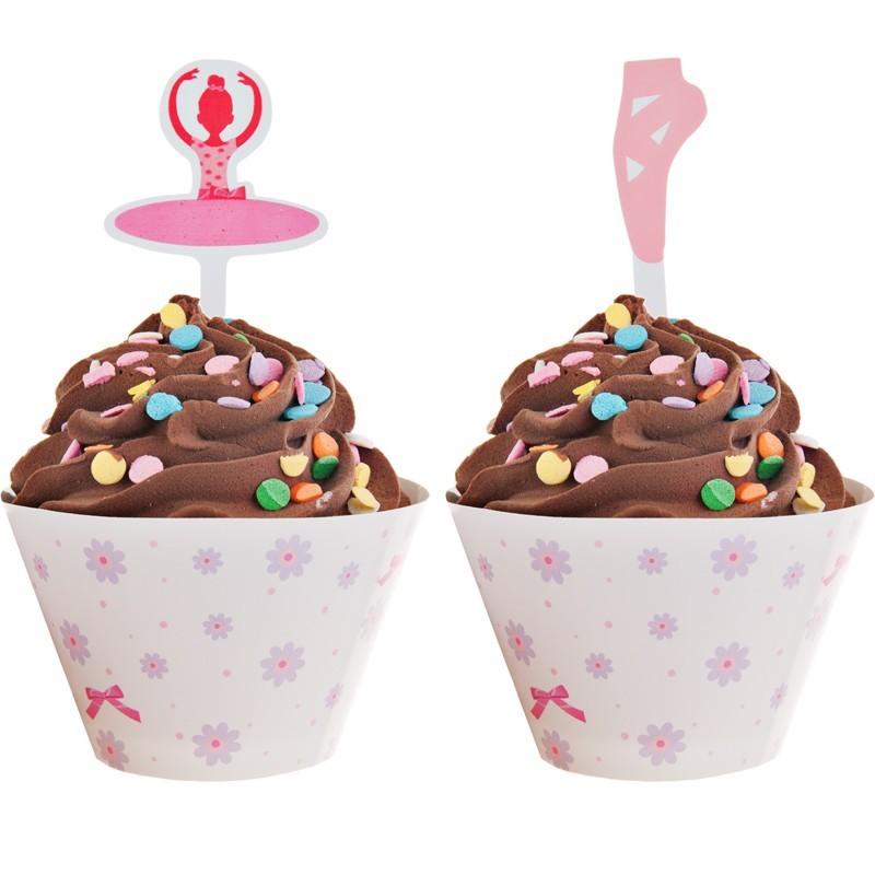 Juego de accesorios para cupcakes Tutu Much Fun Creative Converting