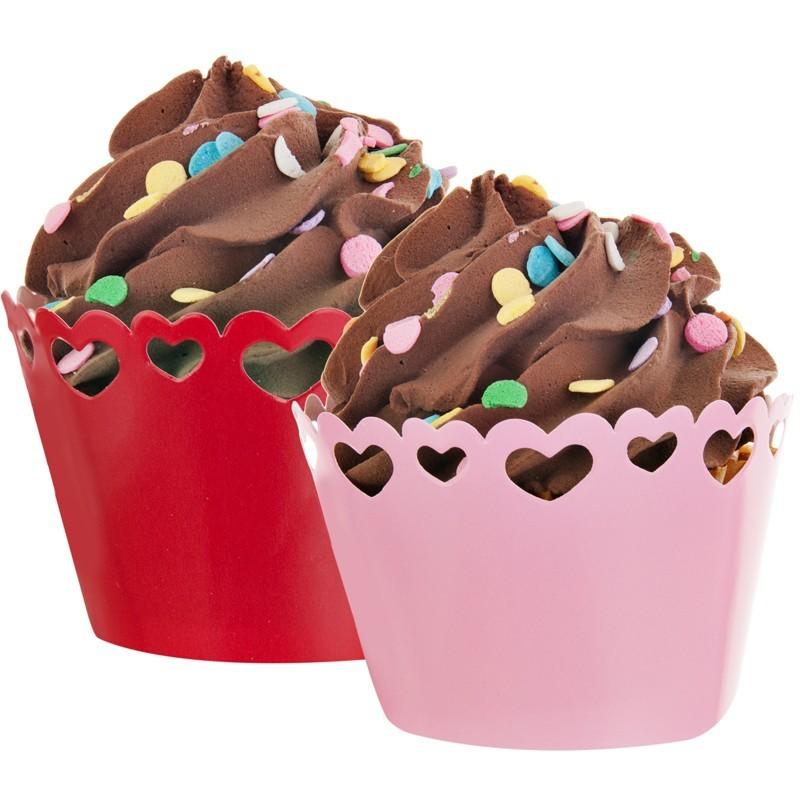 Juego de accesorios para cupcakes Heart Dazzler Creative Converting
