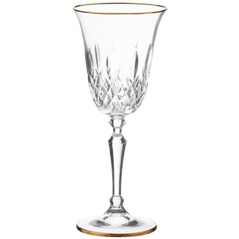 Juego de 6 copas para vino blanco Marilin Cre Art