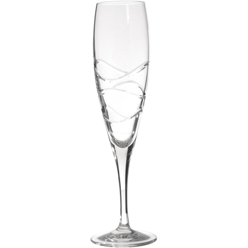Juego de 6 copas para champagne Fiona Wave Jihlavske