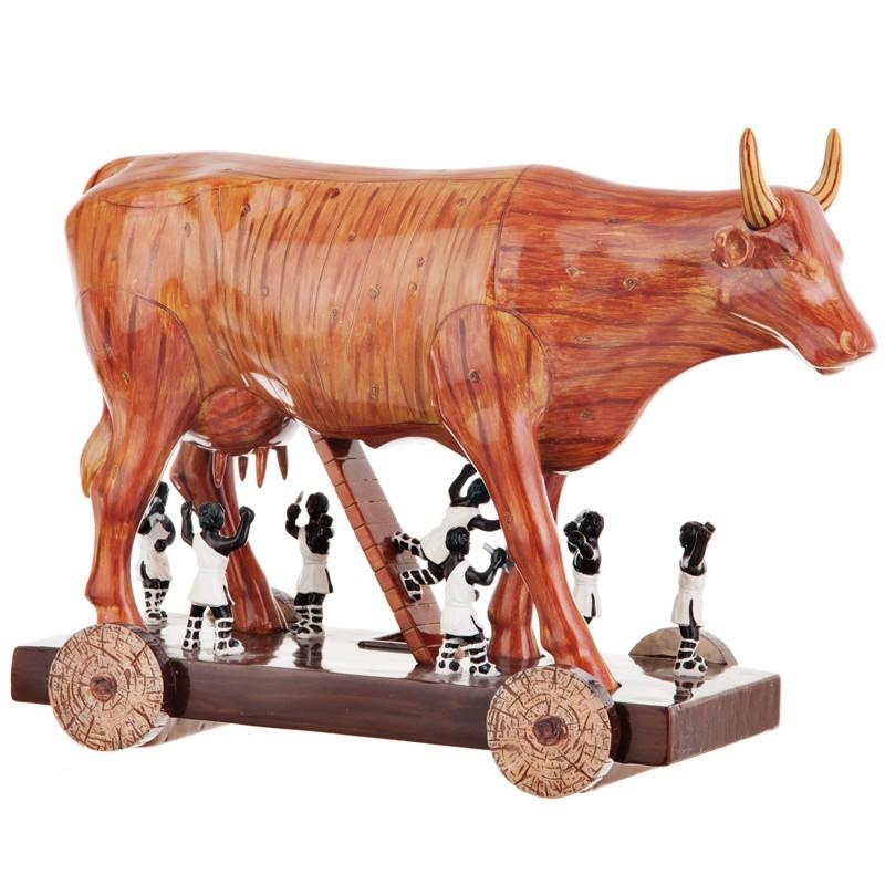 Figura de vaca de Troya Cow Parade