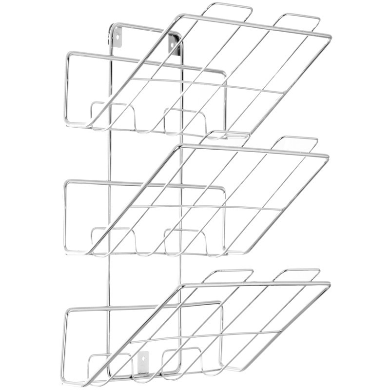 Revistero para pared de 3 niveles Spectrum