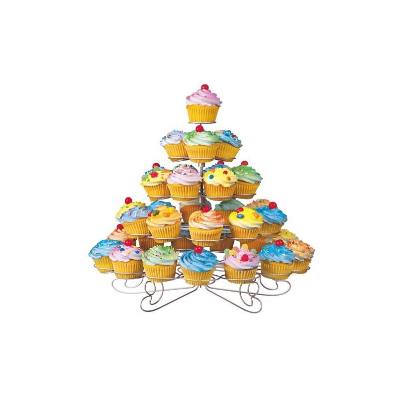 Exhibidor para cupcakes de 38 divisiones Wilton