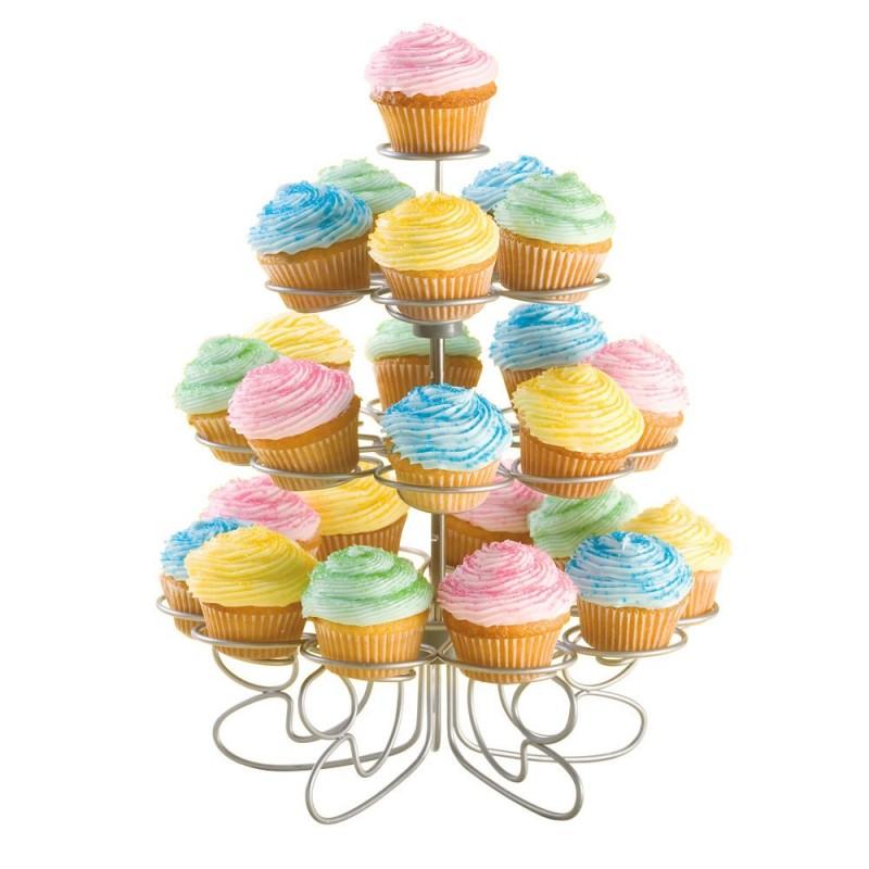 Exhibidor para mini cupcakes de 24 divisiones Wilton