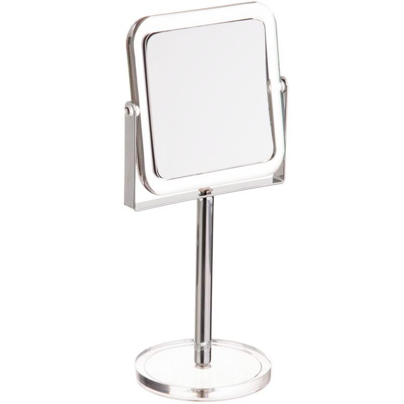 Espejo doble lado aumento 7x con pedestal