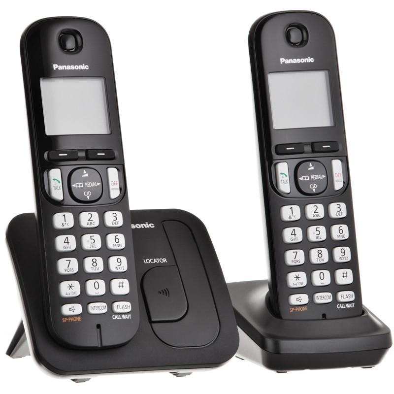 Teléfono inalámbrico KX-TGC212 Panasonic