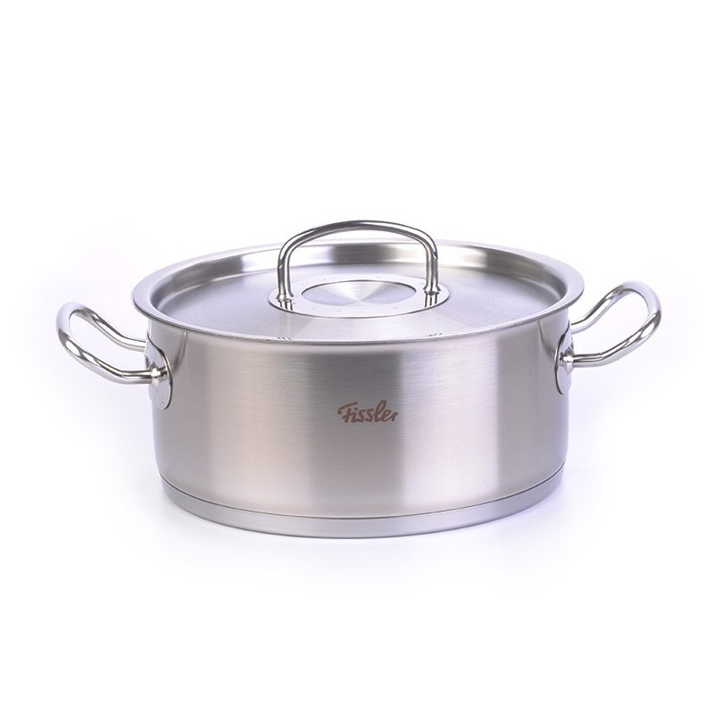 Olla con tapa 24 cm / inducción Pro Collection Fissler