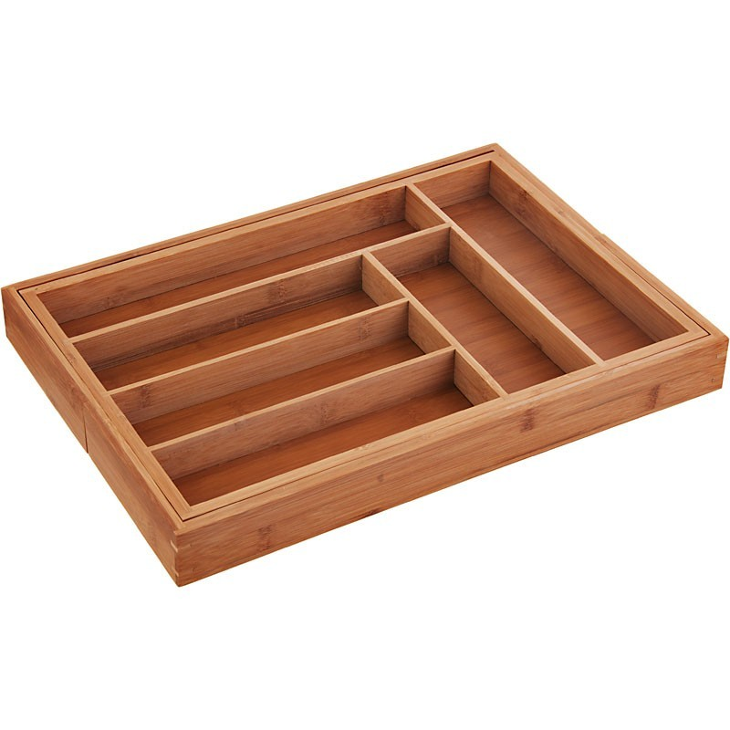 Organizador para utensilios expandible Totally Bamboo