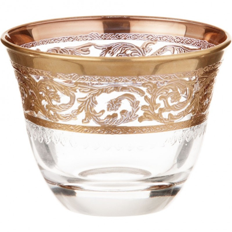 Juego de 6 vasos para licor Allegro Cre Art