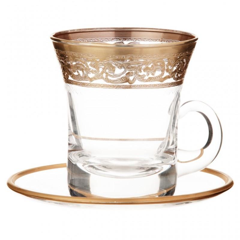 Juego de platos y tazas para té Allegro Cre Art