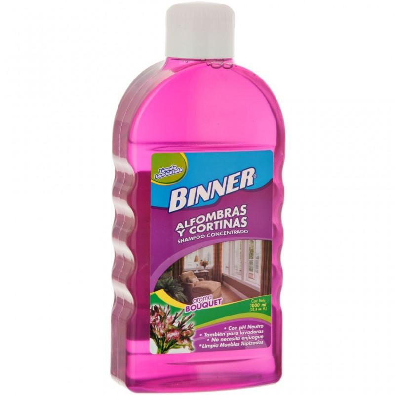 Shampoo para alfombras y cortinas Bouquet Binner