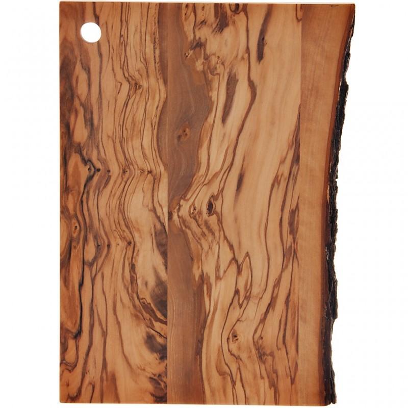 Tabla para picar filo rústico madera