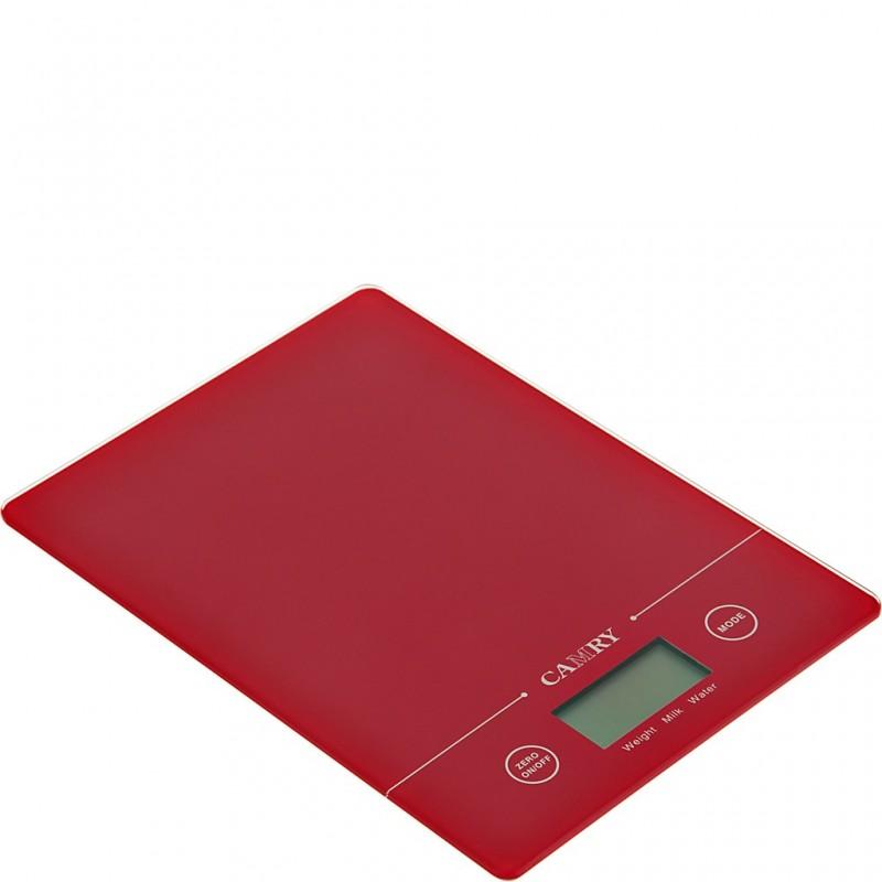 Balanza digital para cocina Camry Rojo