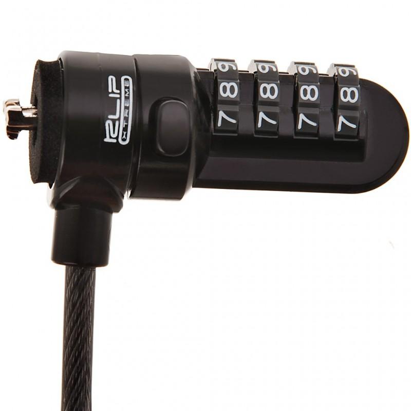 Cable de seguridad con clave para laptop Klip Xtreme