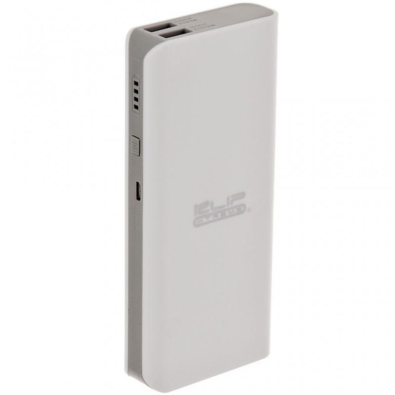Batería recargable portátil 12 mAh con 2 USB KBH-190 Klip Xtreme
