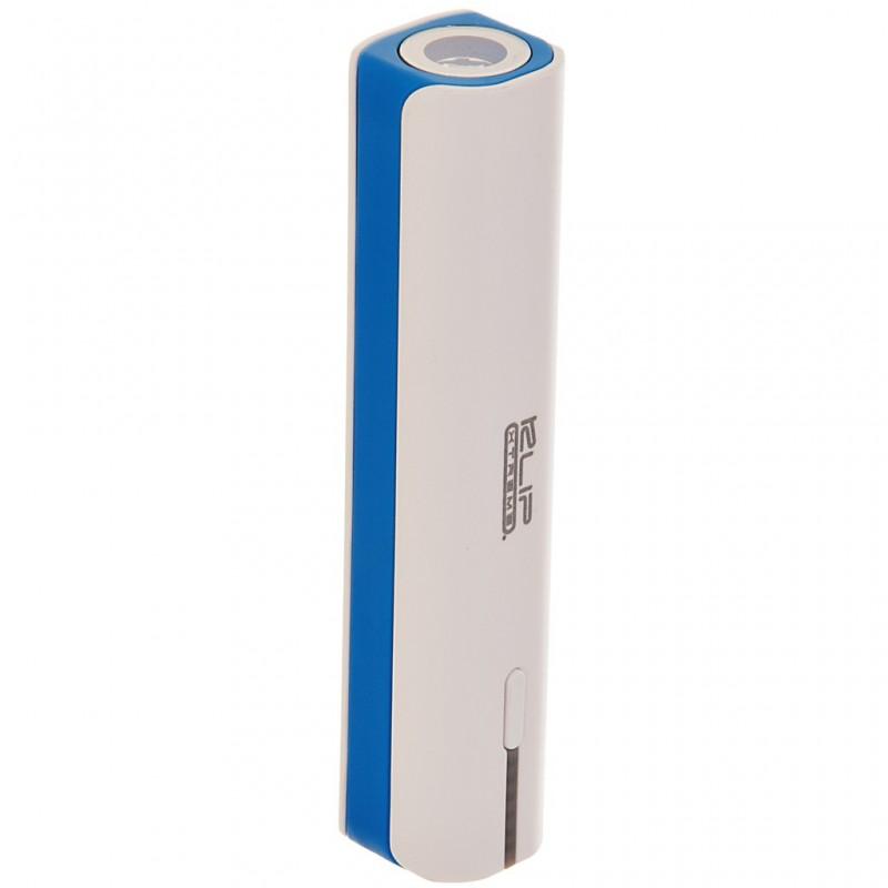 Batería portátil 2600MAH USB con linterna Klip Xtreme