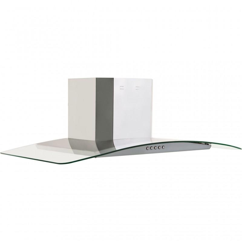 Extractor de olores de pared con lámparas halógenas 650m3/h 90 cm GE
