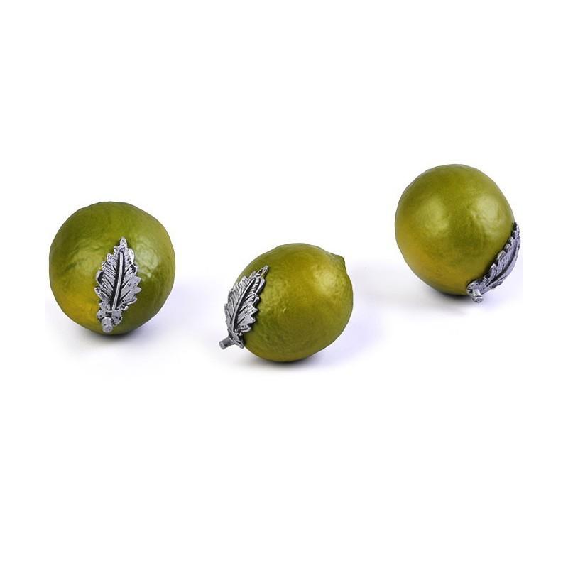 Juego de 3 figuras de limones Marrés