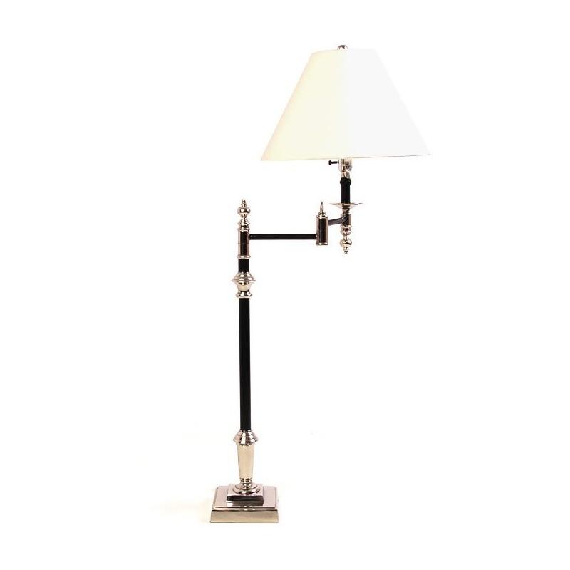Lámpara moderna negra de mesa