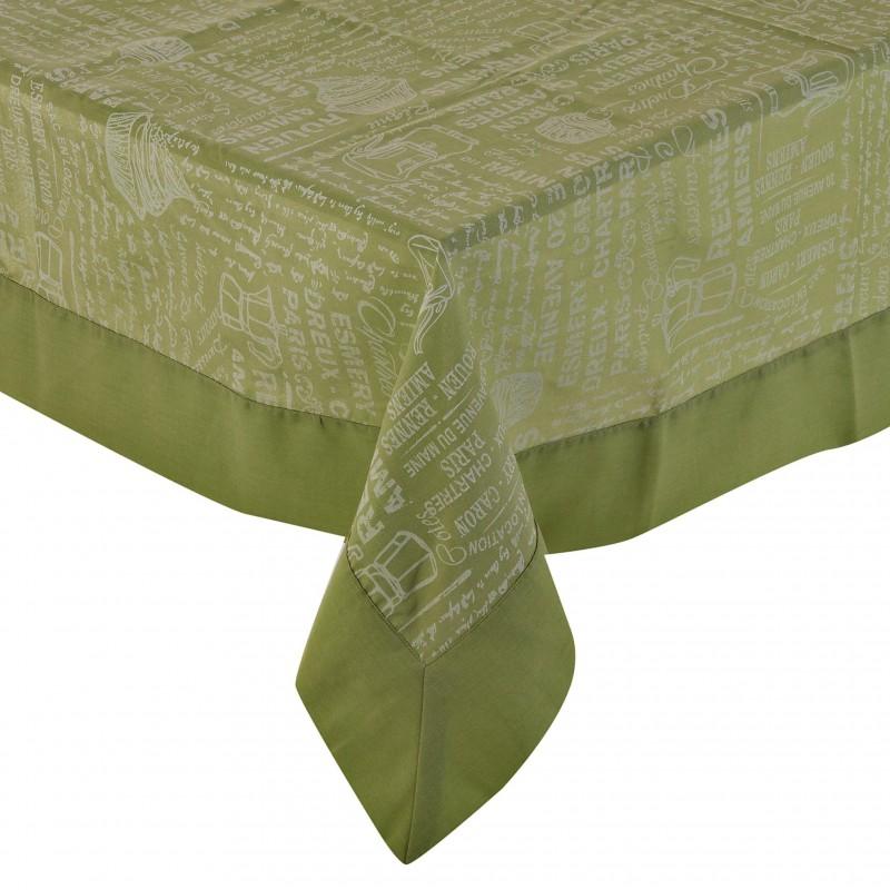 Mantel Cenefa Especial verde Casa Linda