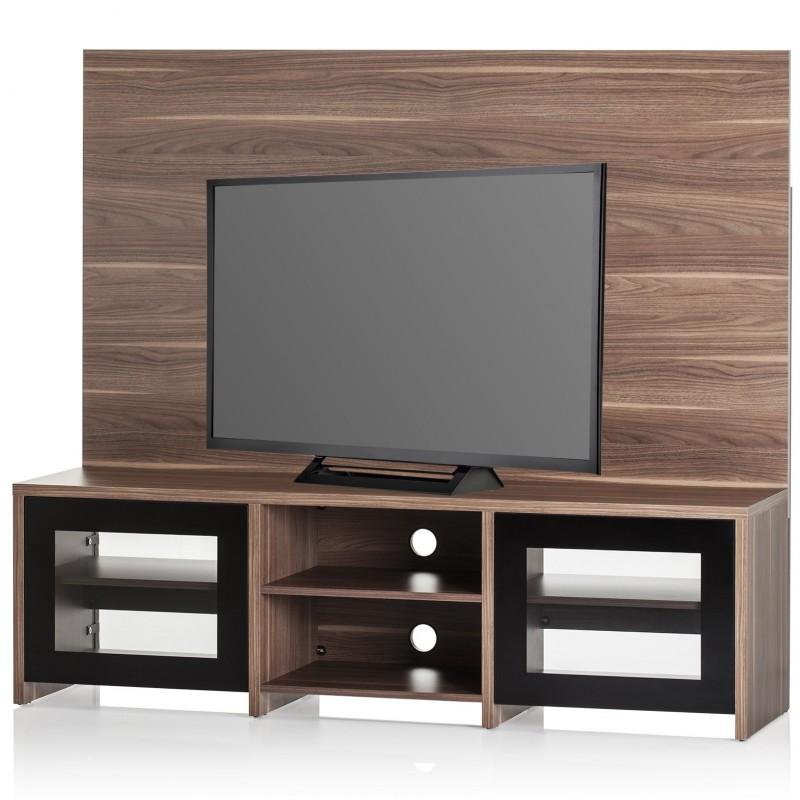 """Mueble para TV hasta 70"""" 3 nivles fondo café Sonorous"""