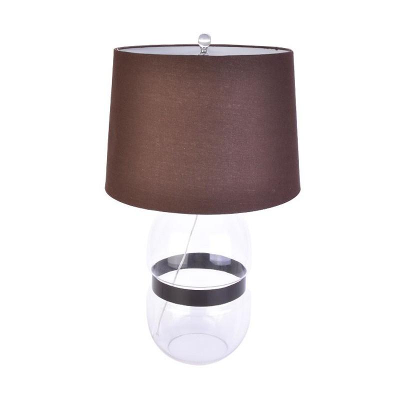 Lámpara café de mesa