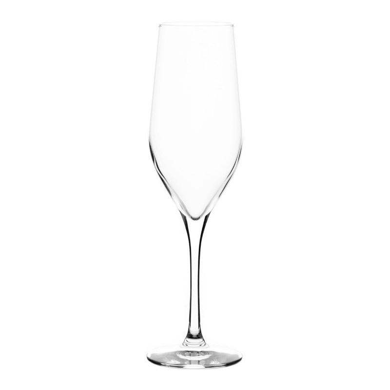Juego de 6 copas para champagne Grand Gourmet Bohemia Cristal
