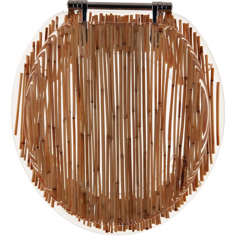 Tapa para inodoro Bamboo Ginsey