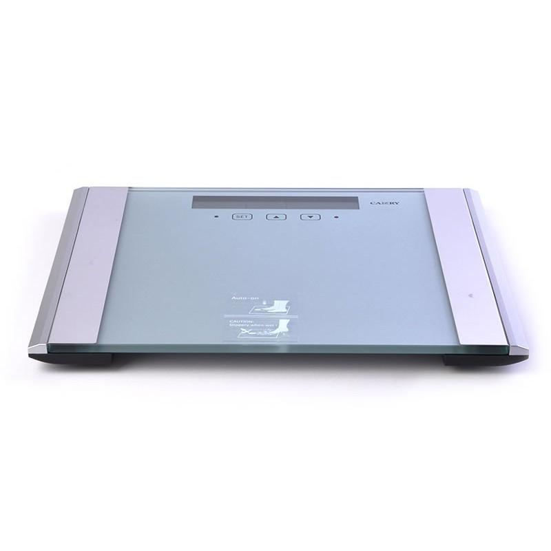 Balanza digital con medidor de grasa / hidratación Camry plateado