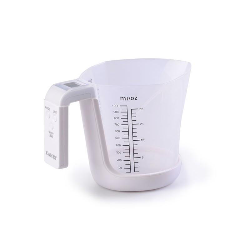 Balanza jarra medidora para cocina Camry blanco