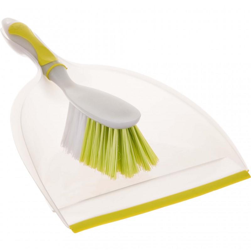 Pala de mano con cepillo