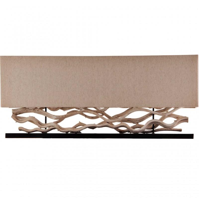 Lámpara de mesa rectangular Rama Asian Design