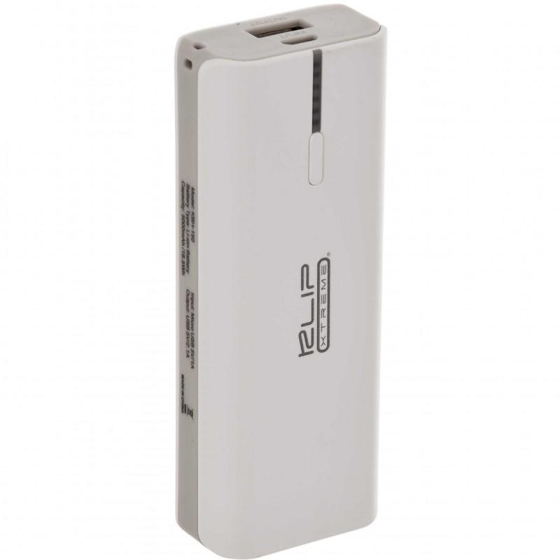 Batería recargable portátil 5000 mAh con linterna KBH-150 Klip Xtreme