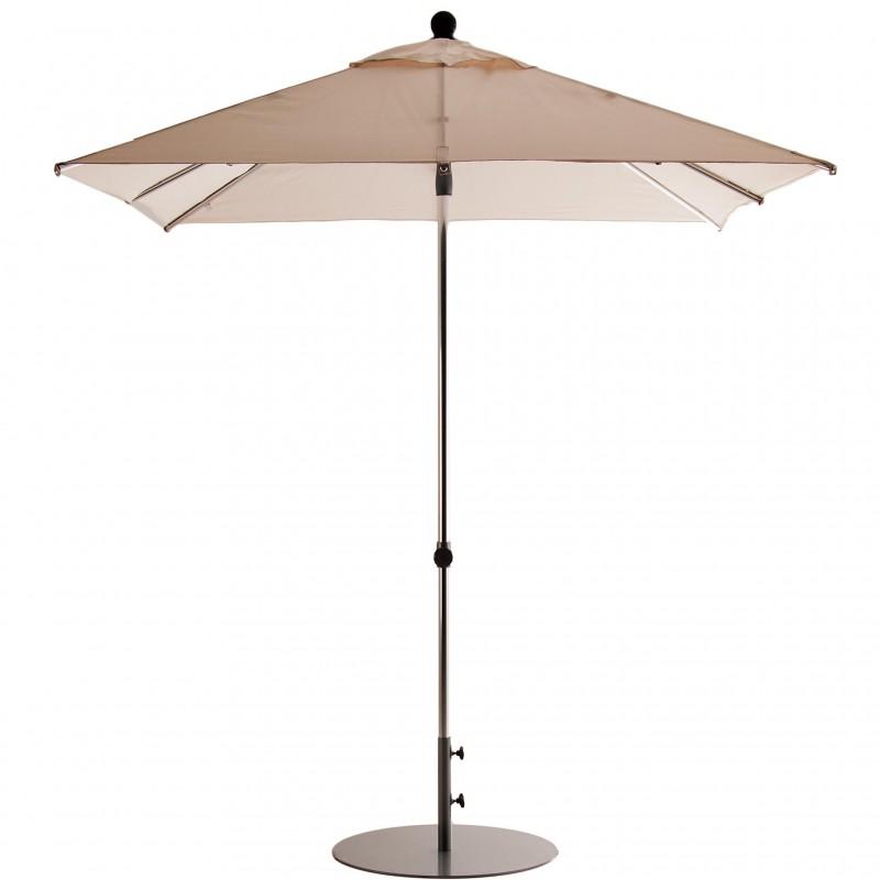 Parasol cuadrado 2x2 m con base