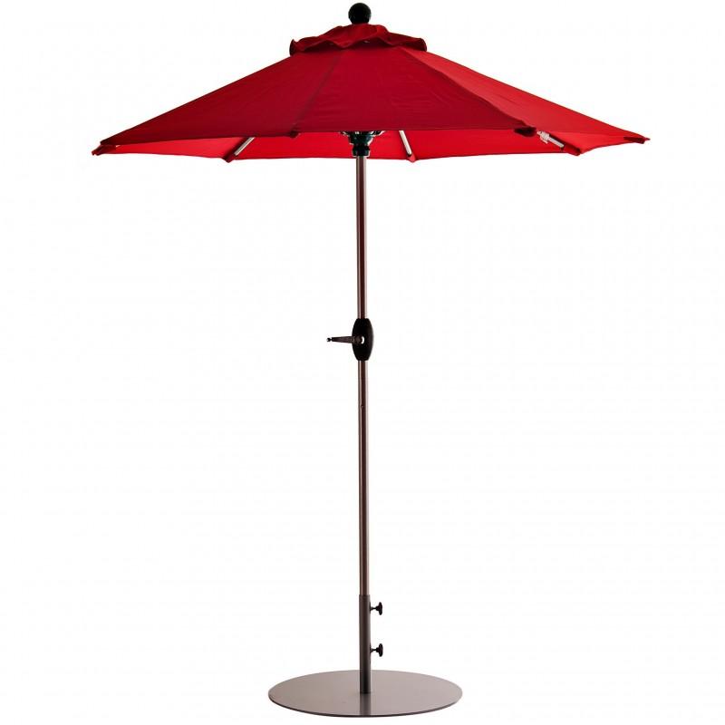 Parasol redondo 2 m con base