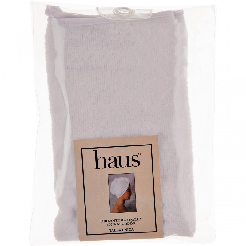 Turbante Velour blanco Haus