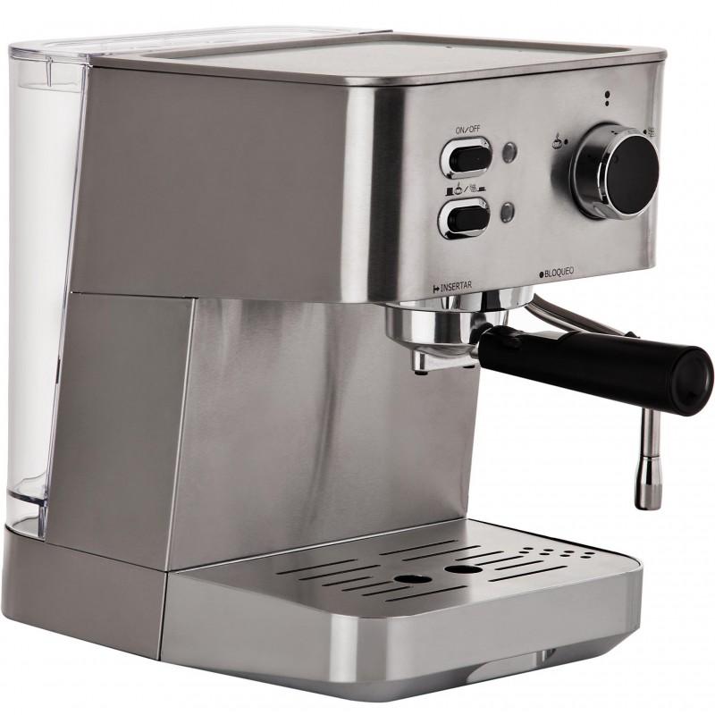 Cafetera Expresso/Capuchino 1.5L / 2 tazas 1050W Indurama