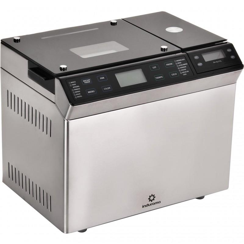 Máquina para hacer pan con 12 menús y temporizador 2L 615W Indurama