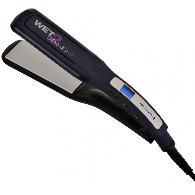 Plancha alisadora cabello seco/húmedo Remington