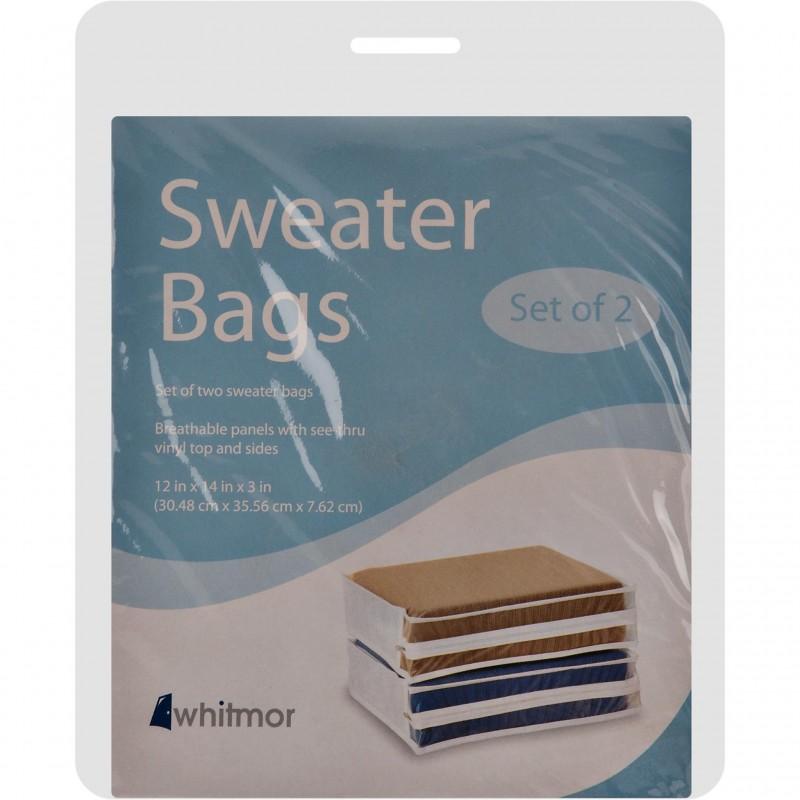 Juego de 2 fundas protectoras para sweaters Whitmor