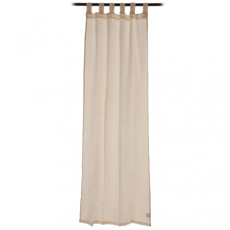 Cortina decorativa 110x220 cm algodón Rayas Haus